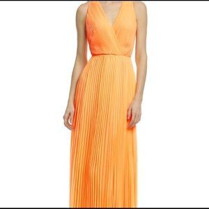 Halston heritage formal bright gown